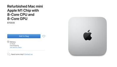apple m1 mac mini