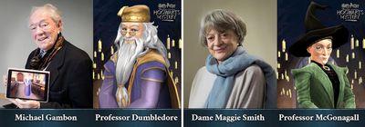 harry potter hogwarts mystery cast