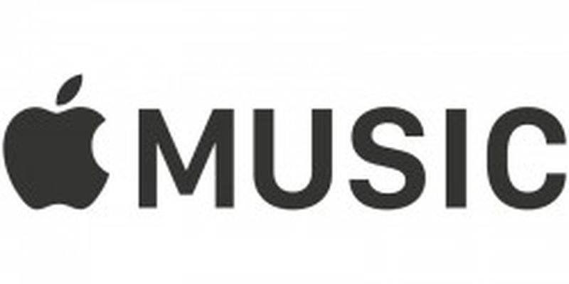 Apple Music Black Banner