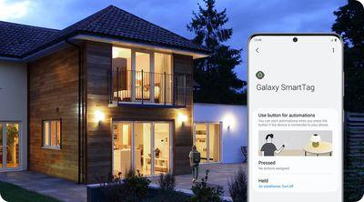 samsung smarttags app home