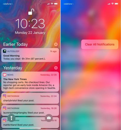 clear notifications 1