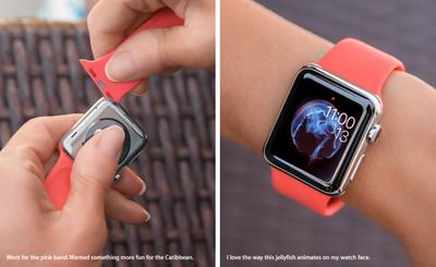 Turlington Apple Watch