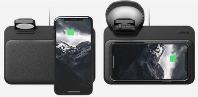nomad apple watch base station