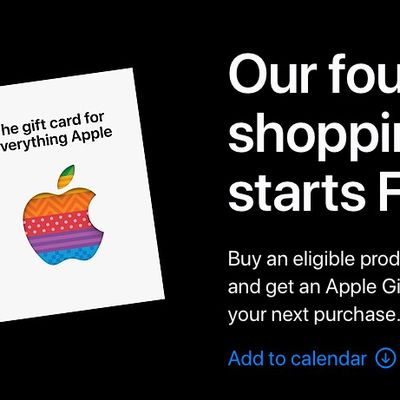2020 apple shopping event