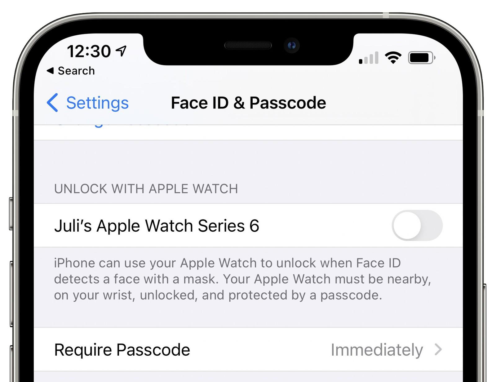 Buka iPhone kini bisa pakai Apple Watch.