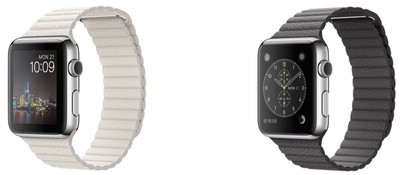 Apple Watch leather loop new colors