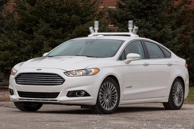 Ford driverless car