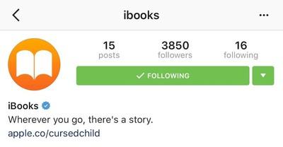 iBooks Instagram
