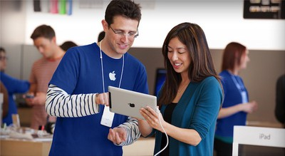 apple retail specialist ipad