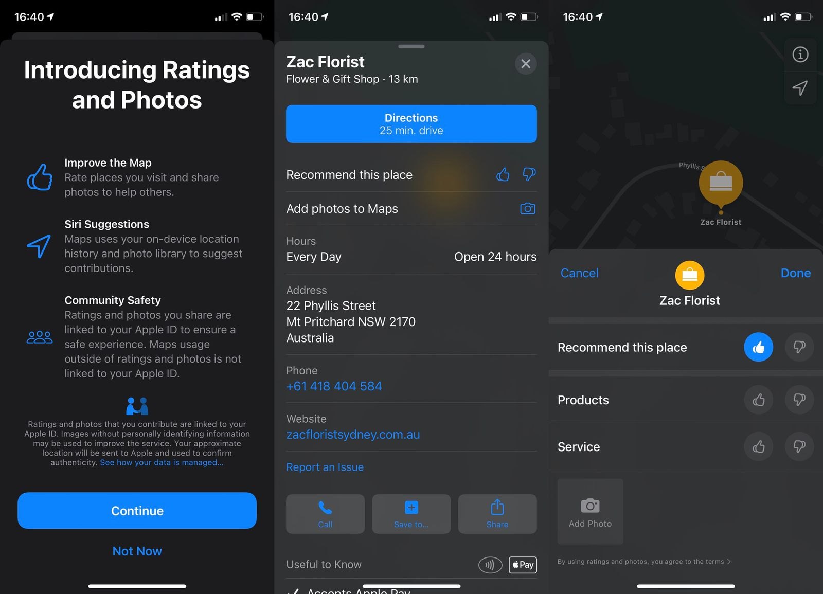 Apple Maps To Get Native Ratings System And Photo Uploads For Places Of Interest Macrumors