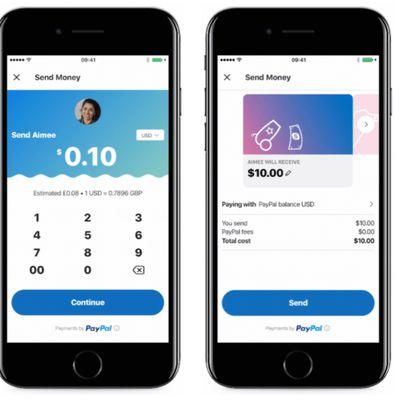 Skype PayPal iOS