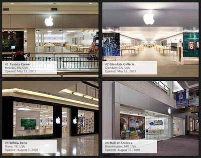 apple retail storefront gallery