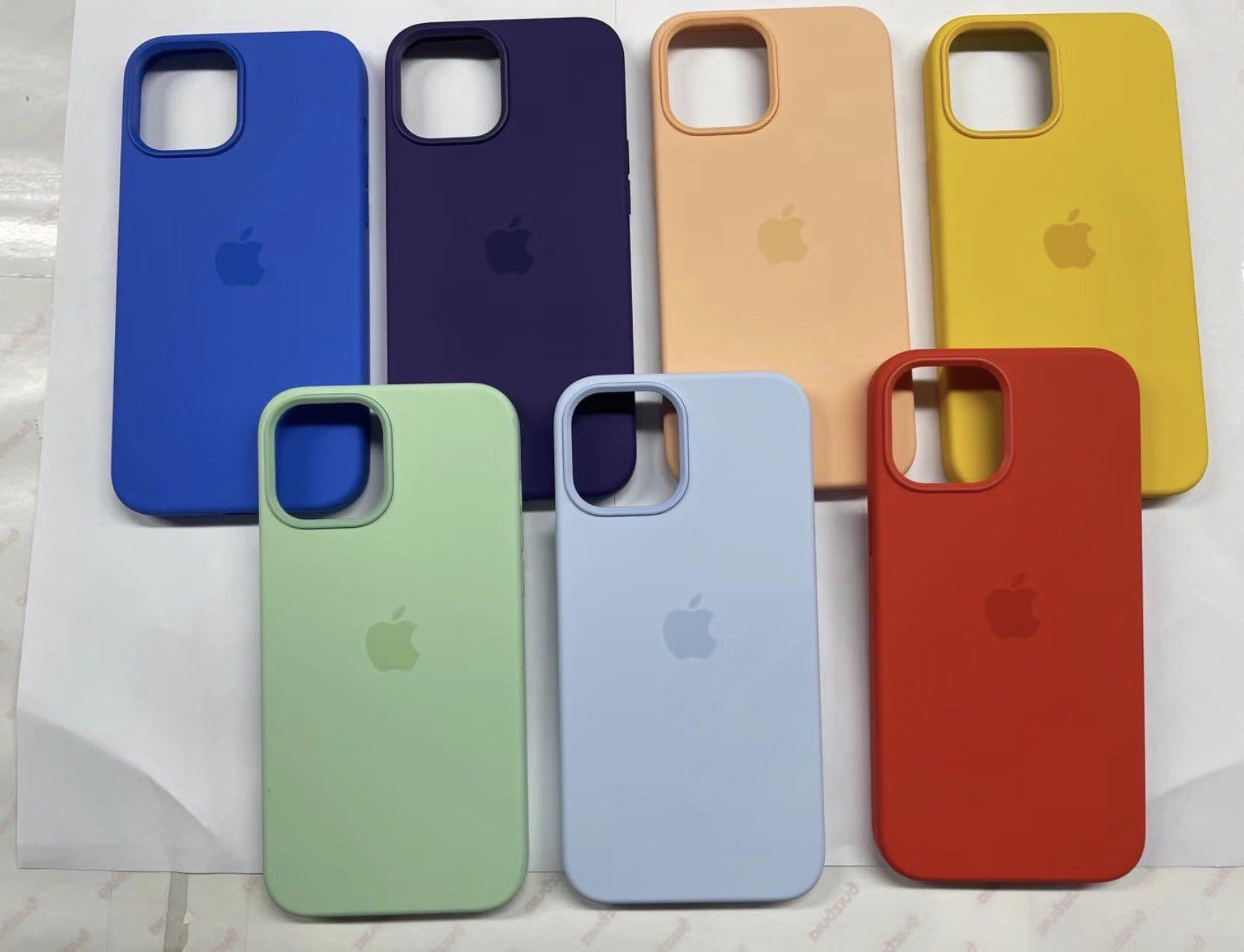 photo of Leaked Photos Show Additional Spring Colors for iPhone 12 Cases image