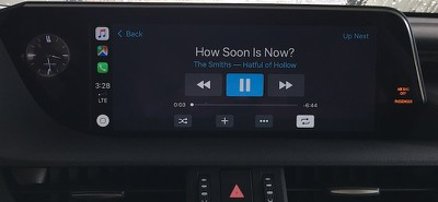lexus es carplay audio