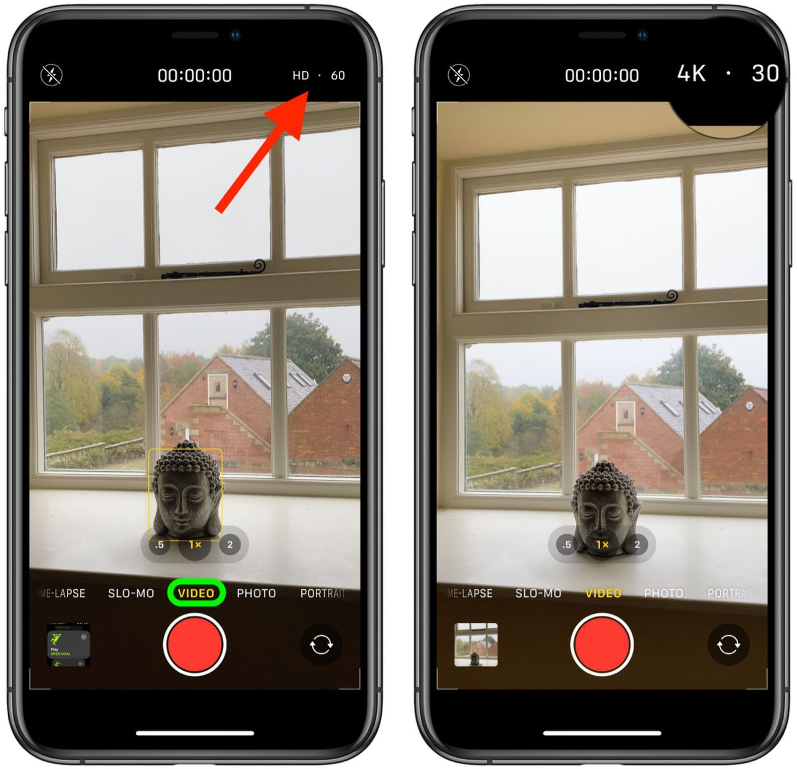Ios 14 How To Change Video Quality In The Camera App Macrumors