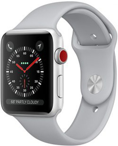 apple watch series 3 red digital crown