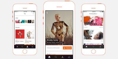 New SoundCloud iPhone app 1
