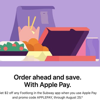 subway apple pay deal