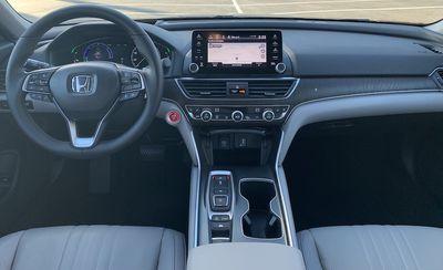 accord hybrid dash