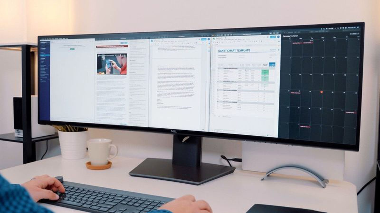 Hands On With Dell S Massive 49 Inch 5k Ultrawide Display Macrumors