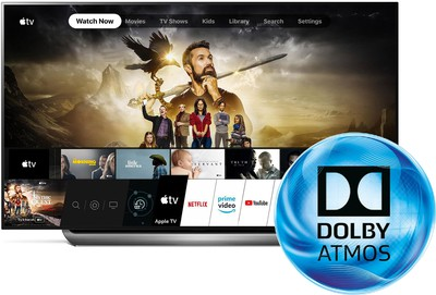 lg apple tv app dolby atmos