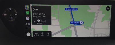 lexus es carplay maps