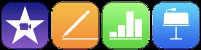 imovie iwork ios icons