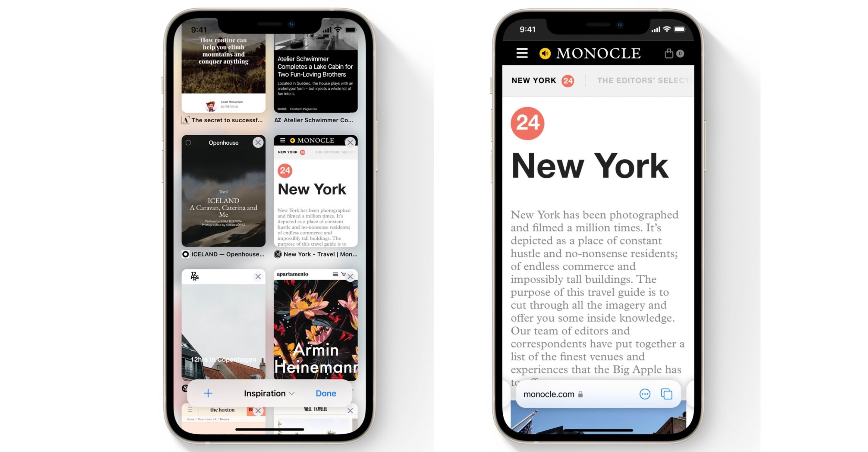 photo of iOS 15: Check Out Safari's New Tab Bar, Tab Groups, and Tab Switcher image