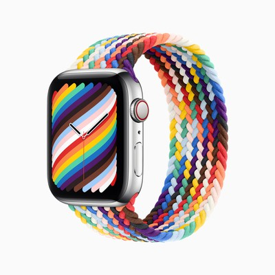 apple 2021 braided solo loop pride edition