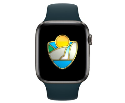 apple watch activity challenge national parks