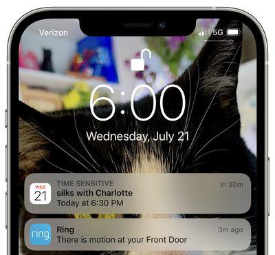 time sensitive notifications focus mode