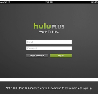 hulu plus linkout text