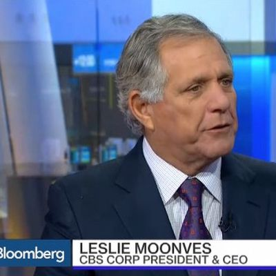 les moonves bloomberg