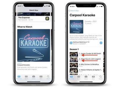 carpool karaoke ios