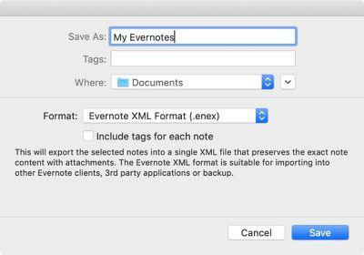 how to migrate from evernote to apple notes02