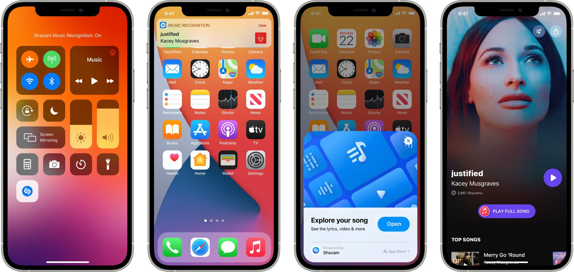 photo of Apple's Shazam Control Center Music Recognition Feature Hits 1 Billion Songs Identified image