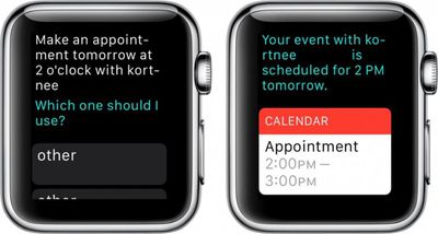 Apple Watch Calendar 4