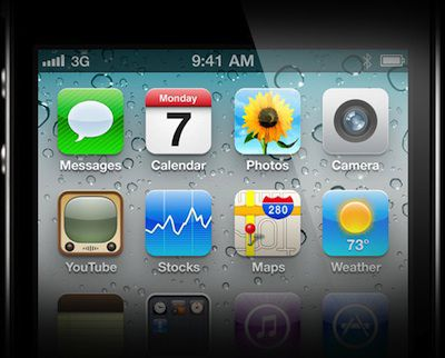 103258 iphone 4 retina display partial