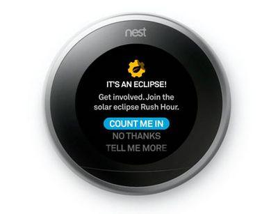 nest eclipse time