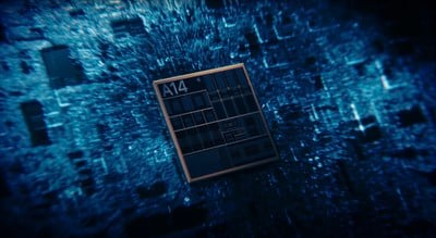 a14 bionic chip video