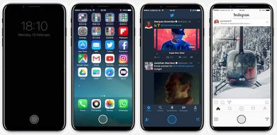iPhone 8 function area concept image 005