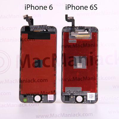 iphone 6 vs 6s displays