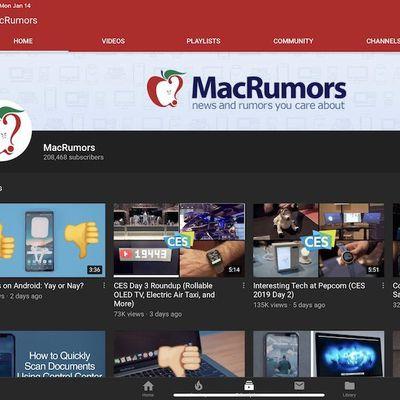 macrumors youtube