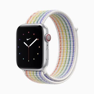apple 2021 nike sport loop pride edition