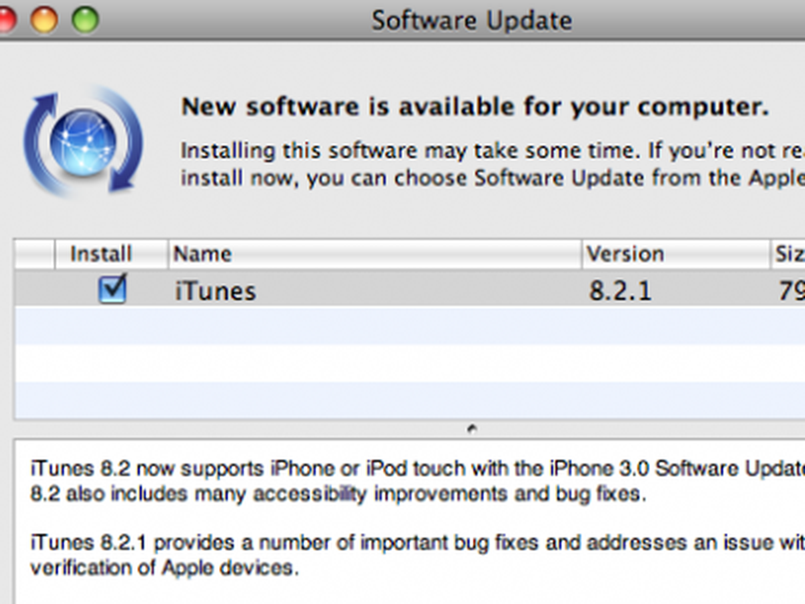 Apple Releases Itunes 8 2 1 Macrumors
