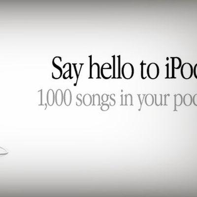 ipod 2001 1000 songs