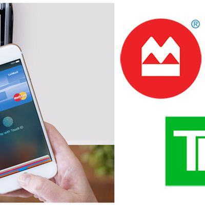 Apple Pay BMO TD Scotiabank new