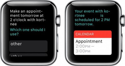 Apple Watch Calendar 4