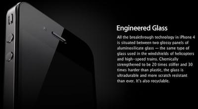 133330 iphone 4 engineered glass