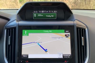subaru forester navigation